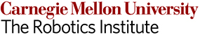 The Robotics Institute Carnegie Mellon University Logo