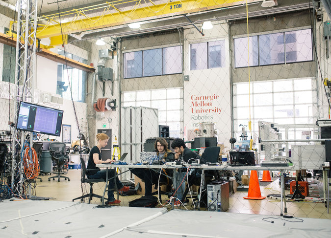 Pittsburgh Gets A Tech Makeover The Robotics Institute Carnegie