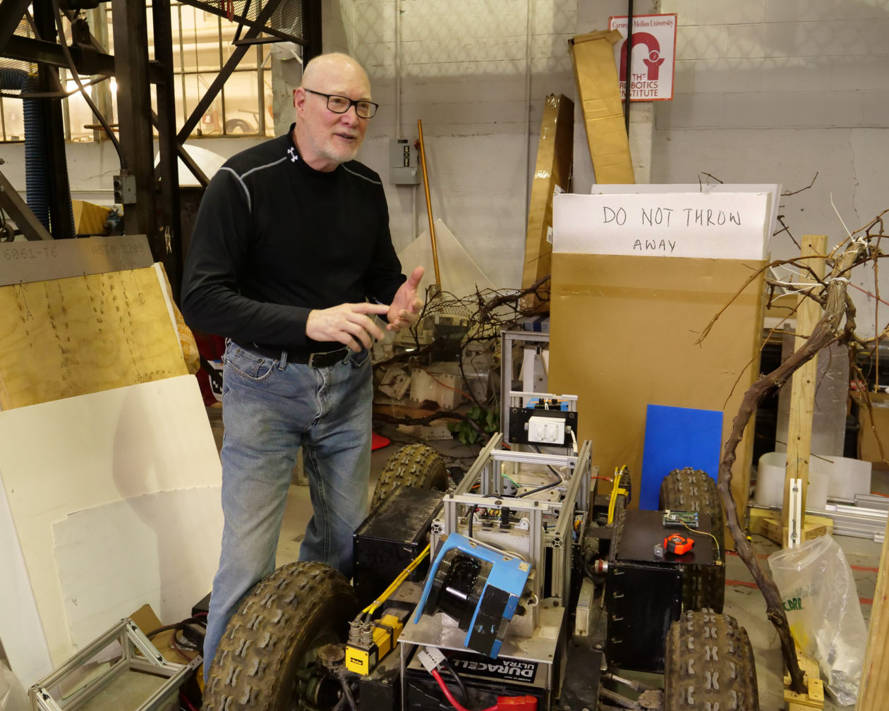 Robotics Pioneer Red Whittaker Wants To Put A Robot On The Moon And