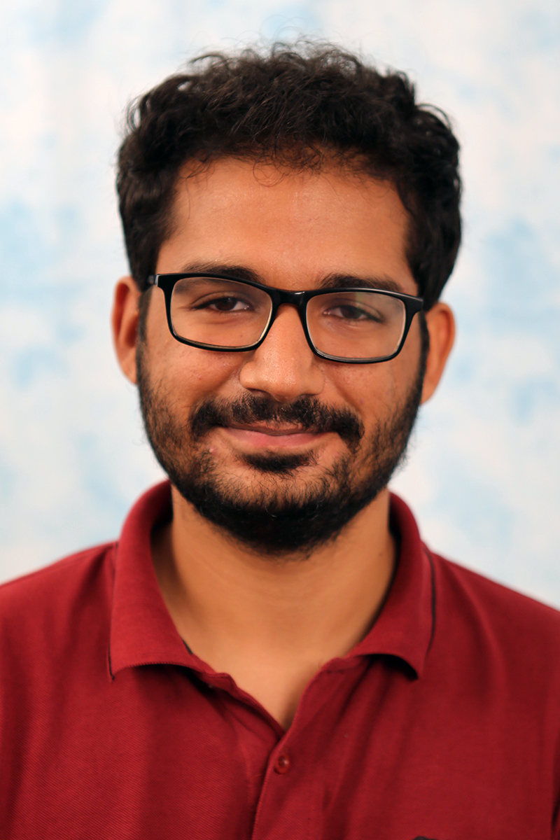 Portrait of Anuj Pahuja