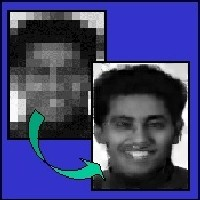 Image Enhancement for Faces image