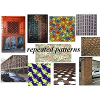 Portrait of A Computational Model for Repeated Pattern Perception using Crystallographic Groups