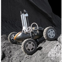 Lunar Rover for Polar Crater Exploration image