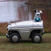 Portrait of Unmanned Ground Vehicle for Security