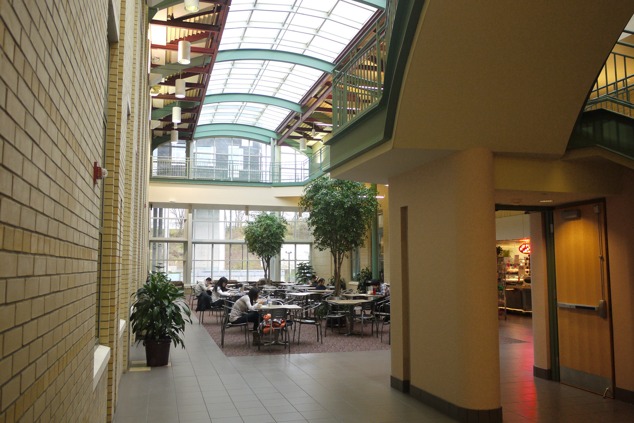 Newell Simon Hall Atrium